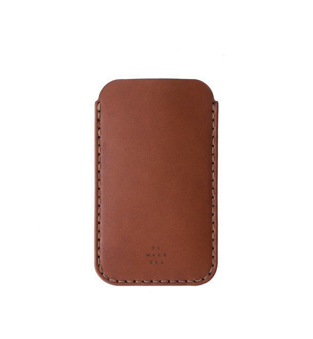 iPhone 6 Plus Sleeve - Saddle Tan