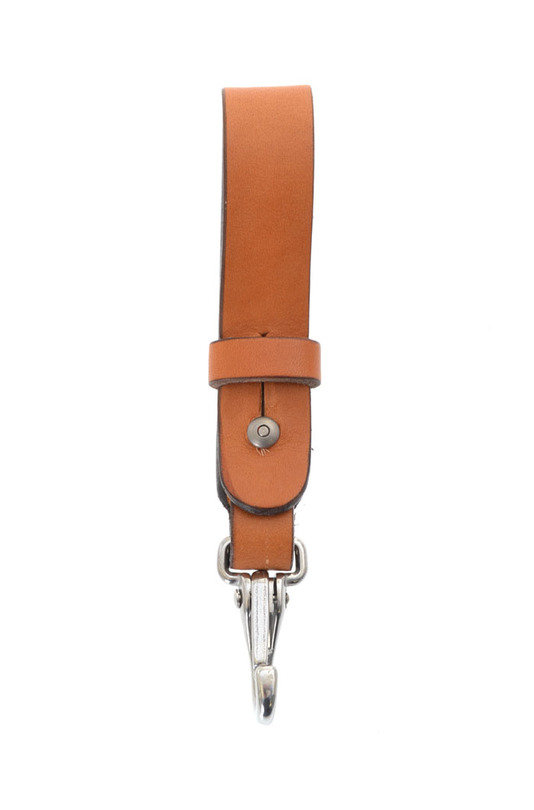 Key Lanyard - Saddle Tan