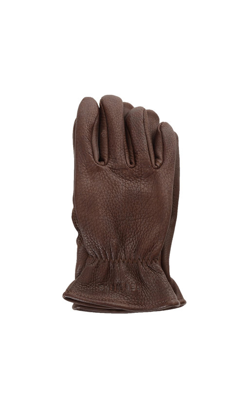 Brown Buckskin Leather Lined Glove