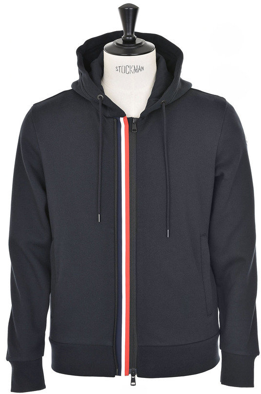 Moncler Hooded Sweater - Navy