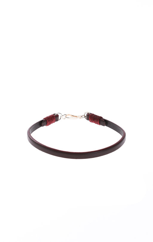 Easy Leather Bracelet - Dark Brown