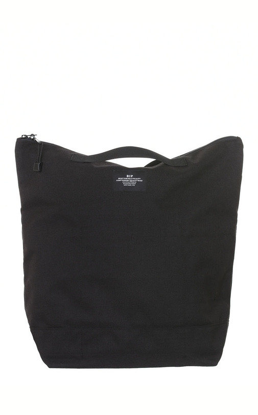 Zipper Bacpack Nylon - Black