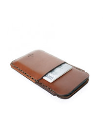View the iPhone 5/Card Sleeve Saddle Tan online at Kafka