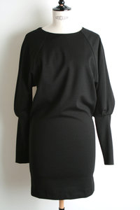 View the Skinny Sleeve Dress. online at Kafka
