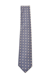 View the Flannel Dots Necktie - Blue online at Kafka