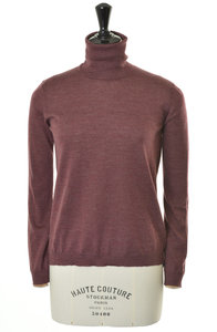 View the 850005 Sweater Turtle- Burgundy online at Kafka