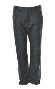 View the Prince-WLOF-Straight Silk Pants- Antracite online at Kafka