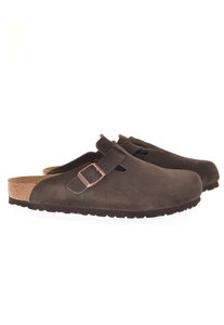 View the Mocha Suede Boston online at Kafka