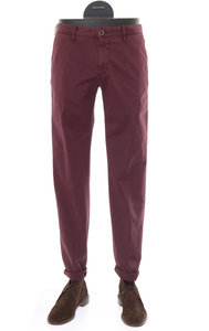 View the Slim Fit Cotton Stretch Burgundy - 1ST603 9619P online at Kafka