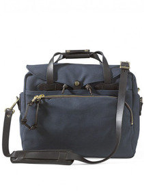 View the Padded Computer Bag - Navy online at Kafka