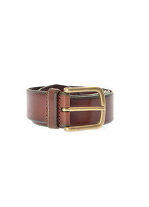 View the Burnished Leather Belt A/3227 - Brown online at Kafka