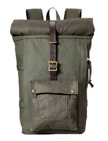 View the Roll-Top Backpack - Otter Green online at Kafka