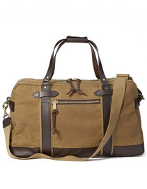 View the Meridian Duffle Tin Cloth - Dark Tan online at Kafka