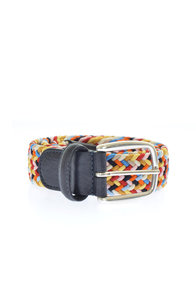 View the B0667 Multi Woven Stretch Belt    online at Kafka