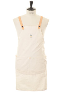 View the Work Apron - White online at Kafka