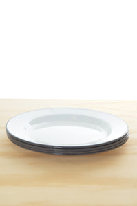 View the Plate Set - Grey online at Kafka
