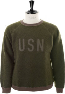 View the BOA Fleece Crew - Olive online at Kafka