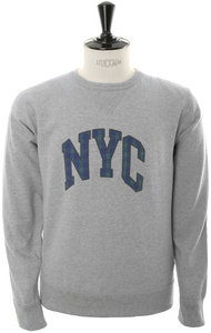 View the City Flocky Sweat - NYC online at Kafka