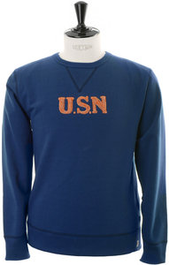 View the USN Hand Embroiderey Sweat - Navy online at Kafka