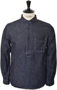 View the Denim Shirt BL007 - Indigo online at Kafka