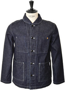 View the Denim Jacket BL004 - Indigo online at Kafka