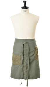 View the Apron BL042 - Khaki online at Kafka