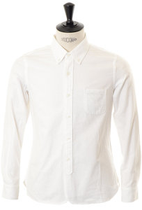 View the B.D Shirt - White online at Kafka