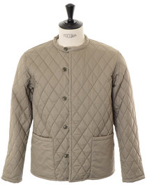 View the Quilting Jacket - Khaki online at Kafka