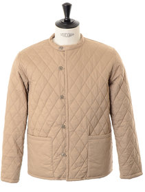View the Quilting Jacket - Beige online at Kafka