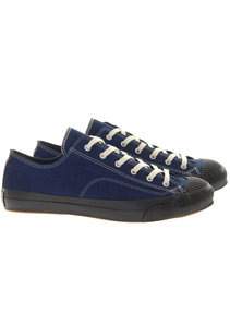 View the Shellcap Low Sneakers - Indigo+Black online at Kafka