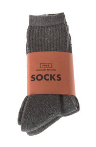 View the Cotton MIx 2 Pack Socks - Charcoal online at Kafka