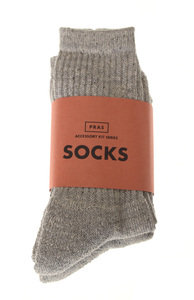 View the Cotton MIx 2 Pack Socks - Grey online at Kafka