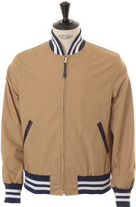 View the Mercantile Varsity Jacket - Khaki online at Kafka
