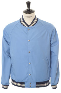 View the Mercantile Varsity Jacket - Blue online at Kafka
