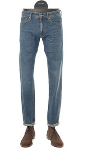 View the Fox Skin Washed Stretch Denim - 90702 820 online at Kafka