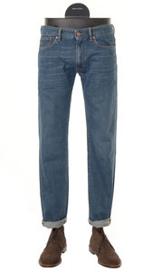 View the Sky Slim Washed Stretch Denim - 90702 820 online at Kafka