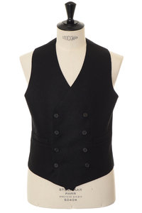 View the Gilet Doppiopetto TV Black online at Kafka