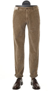 View the Slim Fit Cotton Stretch Cord TAN 1ST603 40617 online at Kafka