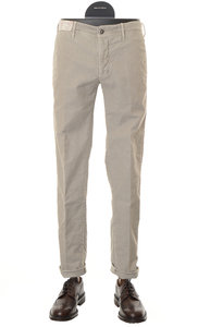 View the Slim Fit Cotton Stretch Trouser STONE 1ST603  40611 online at Kafka