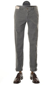View the Slim Fit Cotton Stretch Trouser GREY 1ST603  40611 online at Kafka