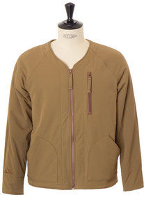 View the Woven 360° Mountain Thermo Army Jacket - Camel online at Kafka
