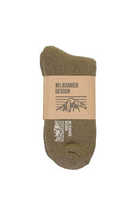 View the Knitted Reversible Socks Regular - Olive online at Kafka