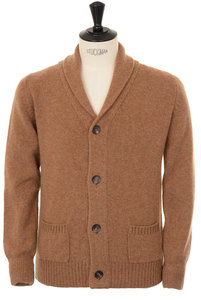 View the Cardigan - Tan online at Kafka