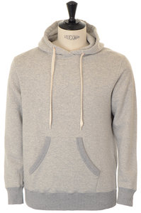 View the Loopwheeler Pullover Hoodie - Heather Grey online at Kafka