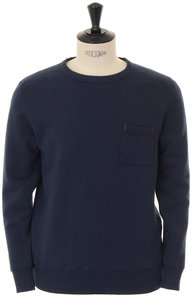 View the Loopwheeler Pocket Sweat - Navy online at Kafka
