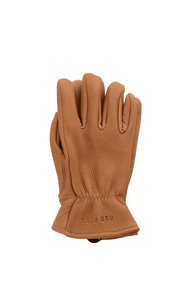 View the Nutmeg Buckskin Leather Lined Glove online at Kafka
