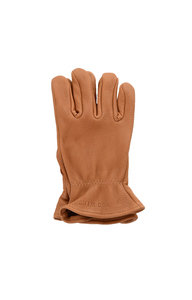 View the Nutmeg Buckskin Leather Unlined Glove online at Kafka