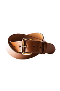 View the Standard Belt - Mahogany/Copper online at Kafka