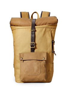 View the Roll-Top Backpack - Tan online at Kafka