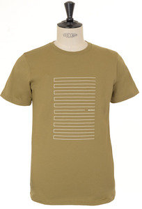 View the Niels Stripe Screen Logo - Warm Brass online at Kafka